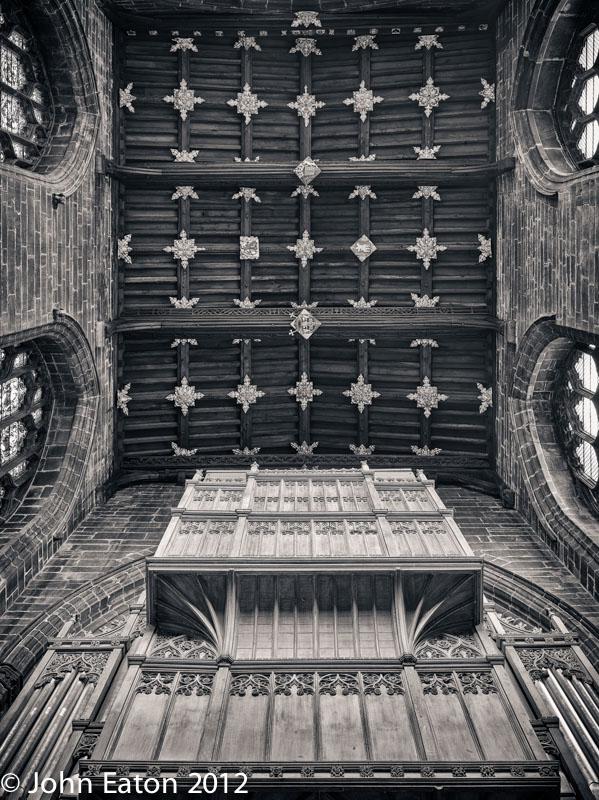Organ and North Transept Vault