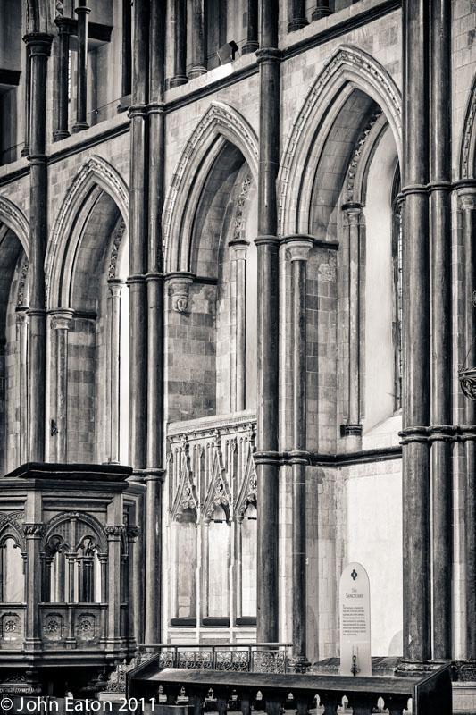 Presbytery, South Wall