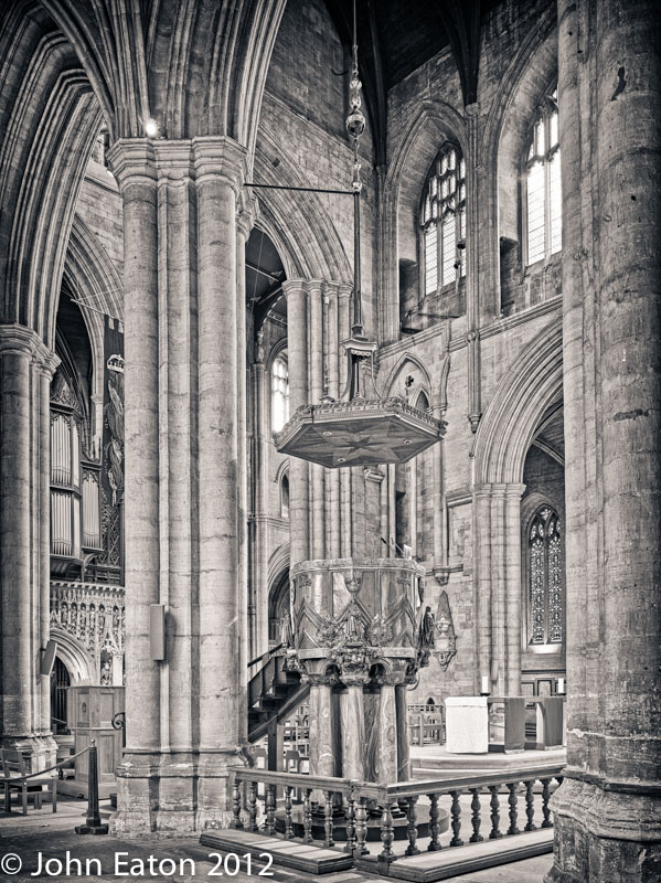 Pulpit and Nave