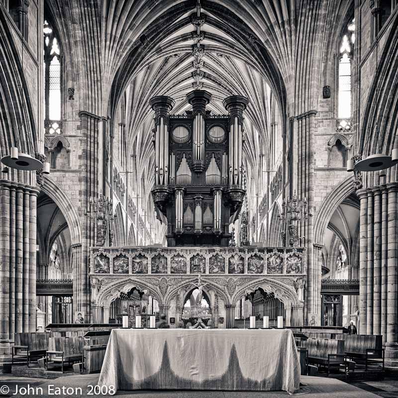 Pulpitum and Organ
