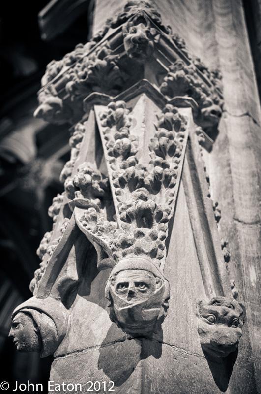 Pulpitum, Detail #3