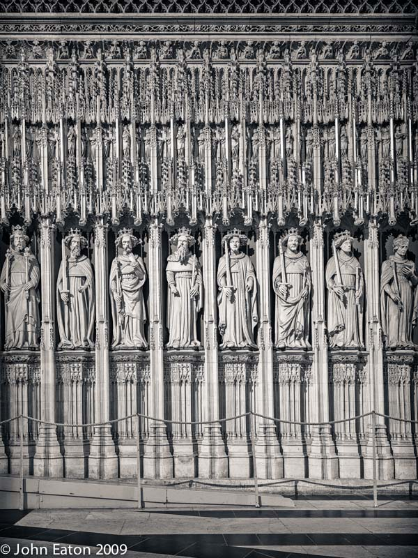 Pulpitum, Detail
