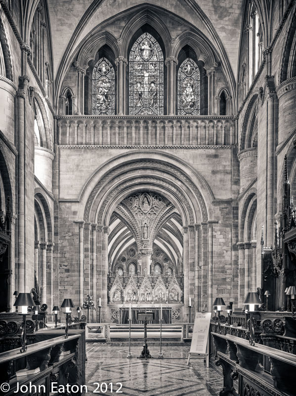 Quire and Presbytery