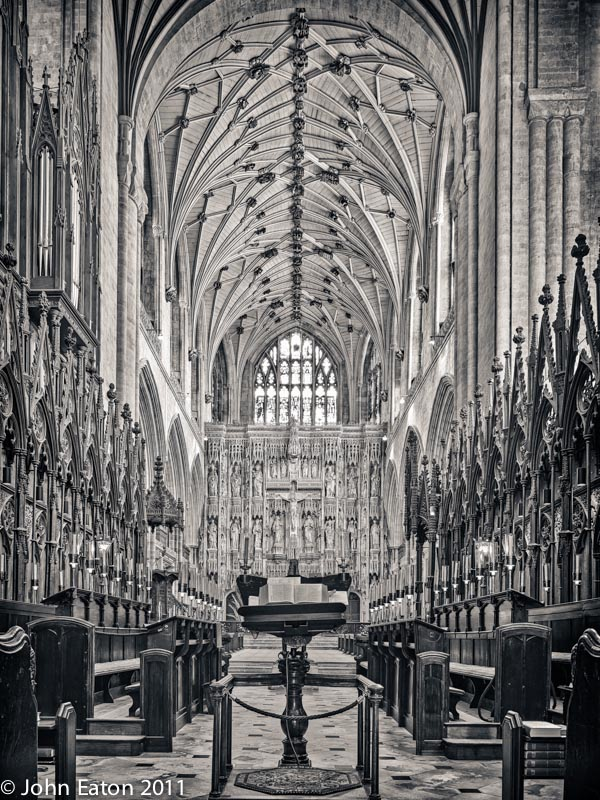 English Medieval Cathedrals: Quire and Presbytery