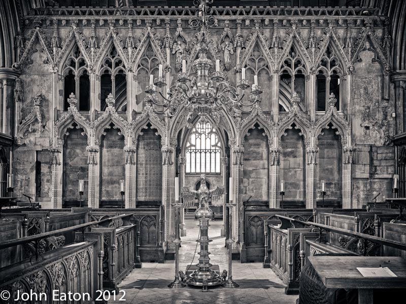 Quire and Pulpitum