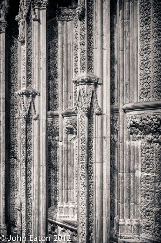 Pulpitum, Detail #1