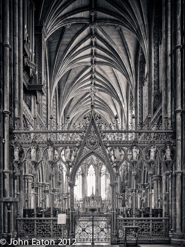 Quire Screen and East End