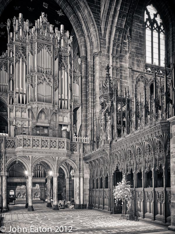 Quire Screen and Organ