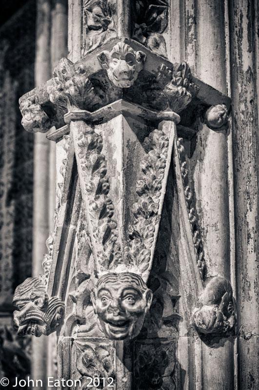 Pulpitum, Detail #2