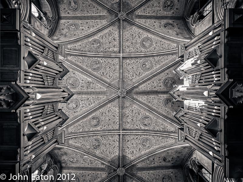 Quire Vault and Organ