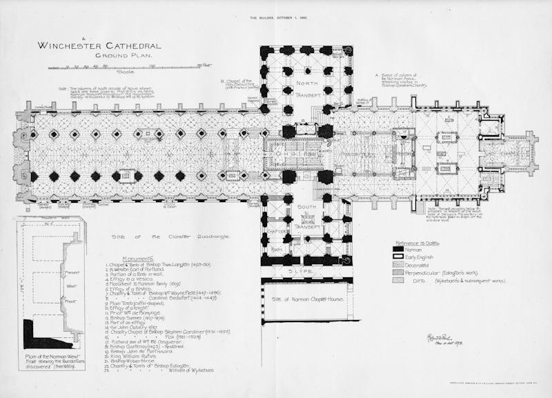 Winchester, Floor Plan
