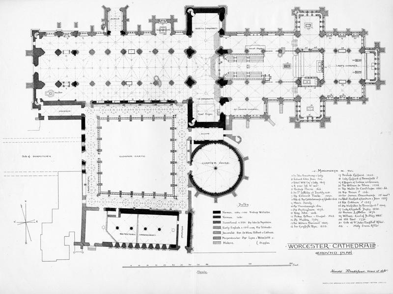 Worcester, Floor Plan