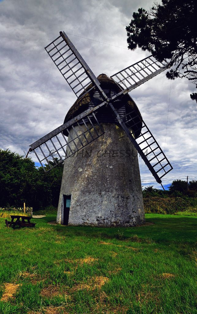 Tacumshane Windmill, County Wexford, Ireland.