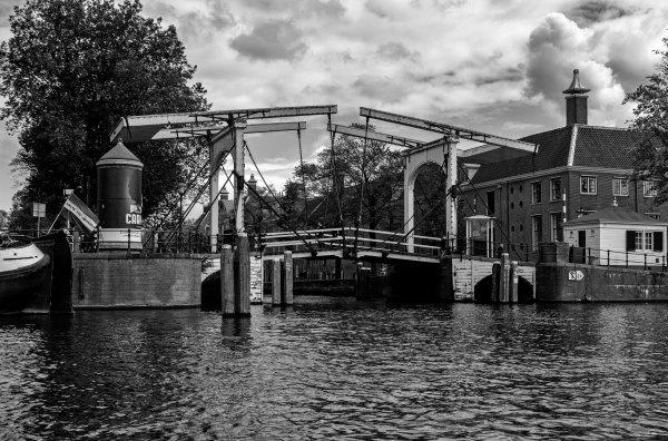 Amsterdam swing bridge
