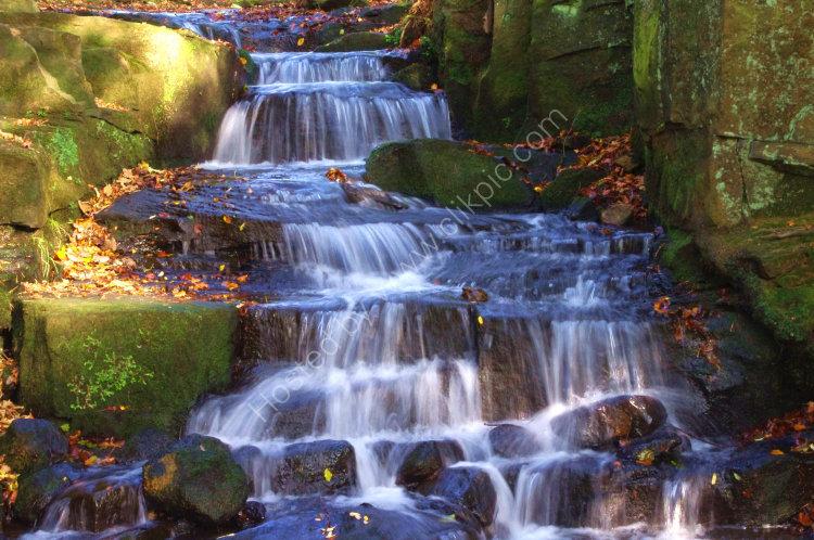 Lumsdale Falls, nr Matlock, Derbys, UK