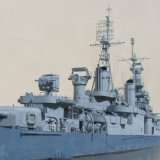 USS Indianapolis - Superstructure