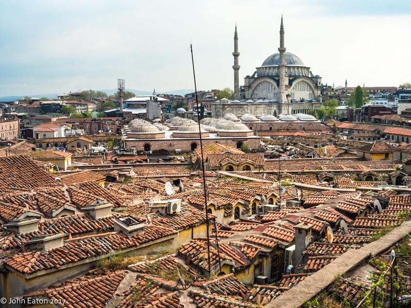 Rooftops of the Bazaar & Hagia Sophia