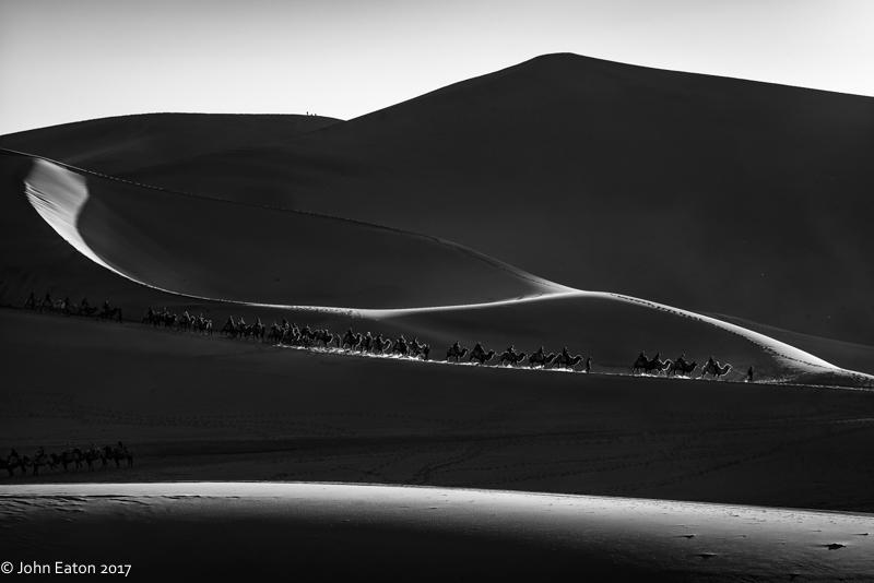 Dunhuang, Camel Trains-1