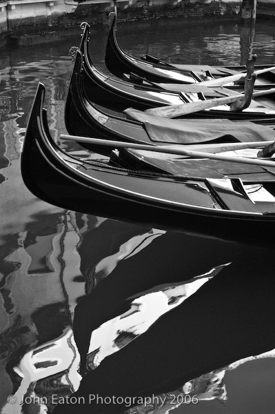 Gondolas and Reflections