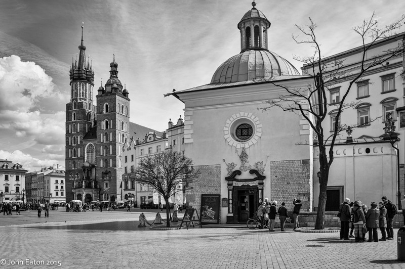 Market Square, St Mary's Church & St Adalbert's