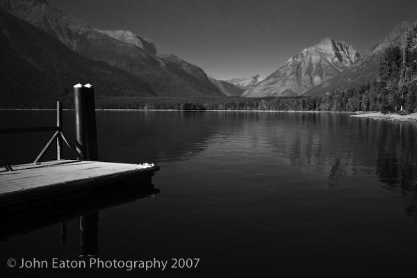 Glacier, McDonald Lake #1