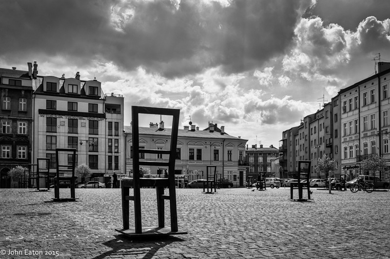 Podgorze, Getto Monument