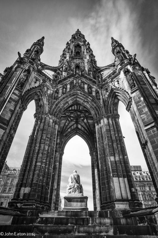 Scott's Rocket, Edinburgh