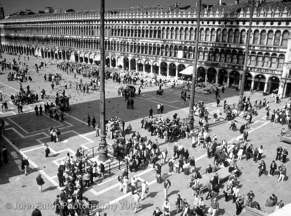 Piazza San Marco and Shadow of the Campanile