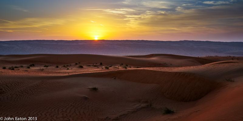 Wahiba, Sunset #1