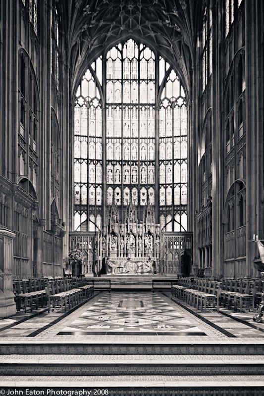 Gloucester, Altar and East Window