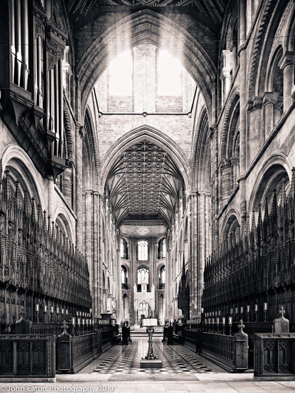 Peterborough, Quire Looking East