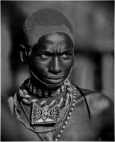 Samburu Maasai Warrior