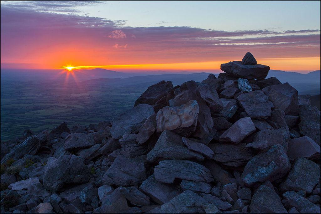 Sunrise over Slievenaman