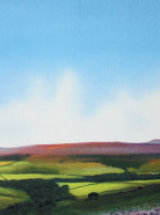 The Valley of Bilsdale, North Yorkshire Moors - Original Oil Painting - SOLD