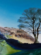 """'Sycamore Gap' - Hadrian's Wall - Original Oil Painting - 31 ½"""" x 15 ¾"""" - SOLD"""
