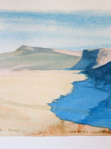 Crag Lough from Steel Rigg - Original Watercolour