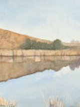 Reflections of Cawfield, Hadrian's Wall. Original Watercolour
