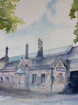 The Station - Watercolour