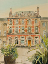 The Old Bank, Bishop Auckland - Watercolour