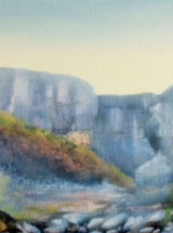 White Force, Middleton in Teesdale - Oil on Canvas - SOLD