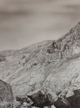 Out of Goredale - Graphite on Paper