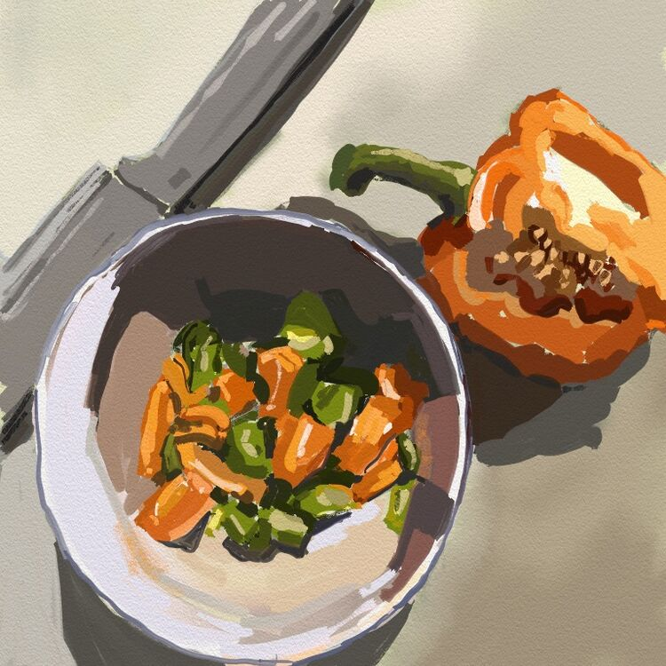Still Life Peppers
