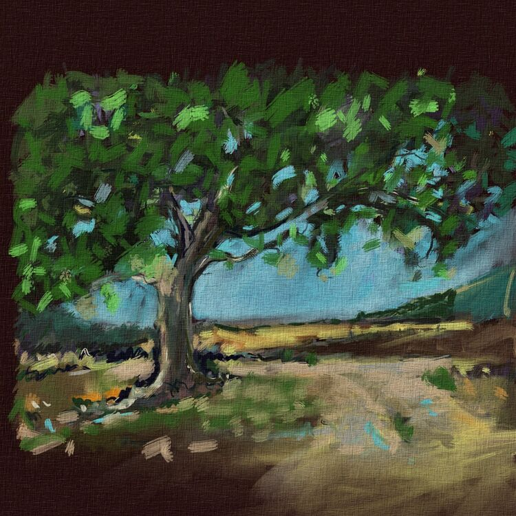 Tree 4 (en plein air )