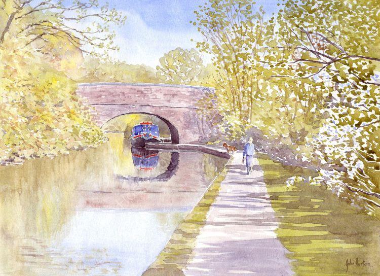 Dunhampstead - Birmingham-Worcester canal