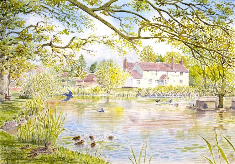 Hanley Swan, Spring