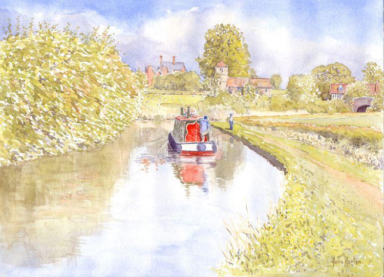 Oddingley- Birmingham - Worcester canal.
