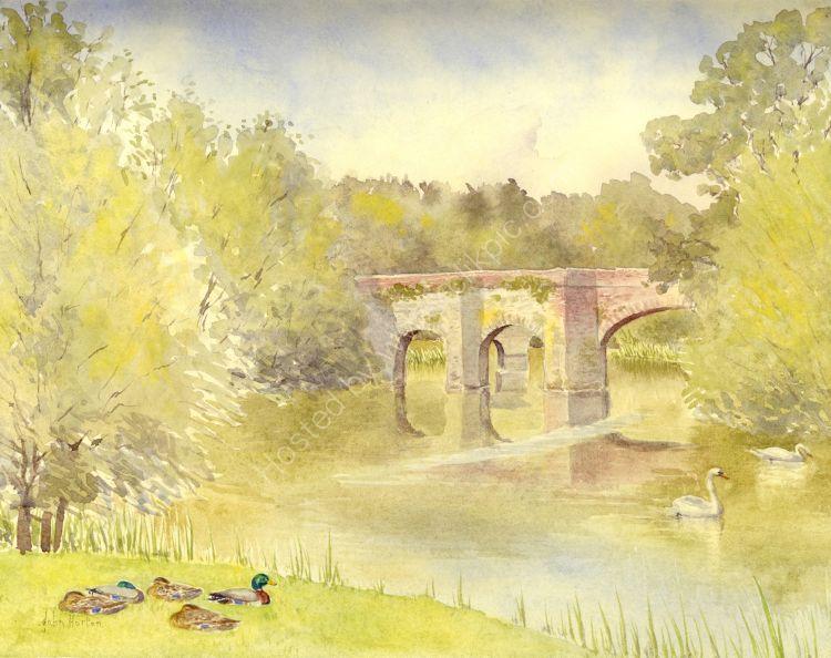 The old bridge, Pershore