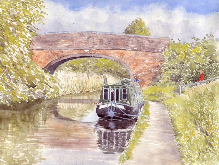 Tibberton bridge - Birmingham - Worcester canal