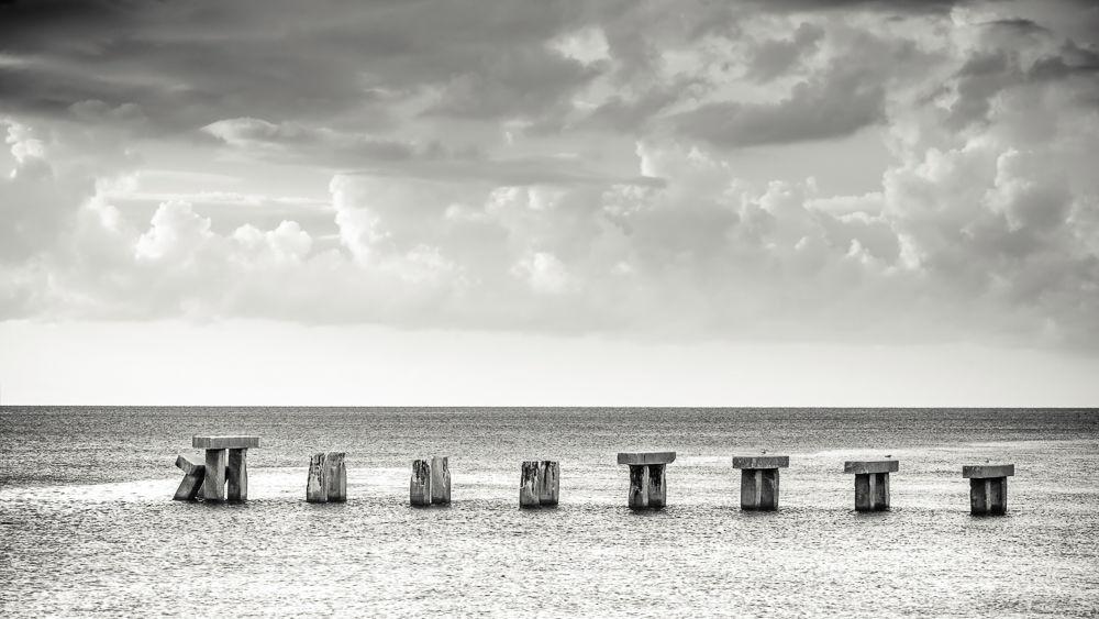 Florida Power and Light pier, USA