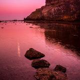 Moonrise Saltwick Bay